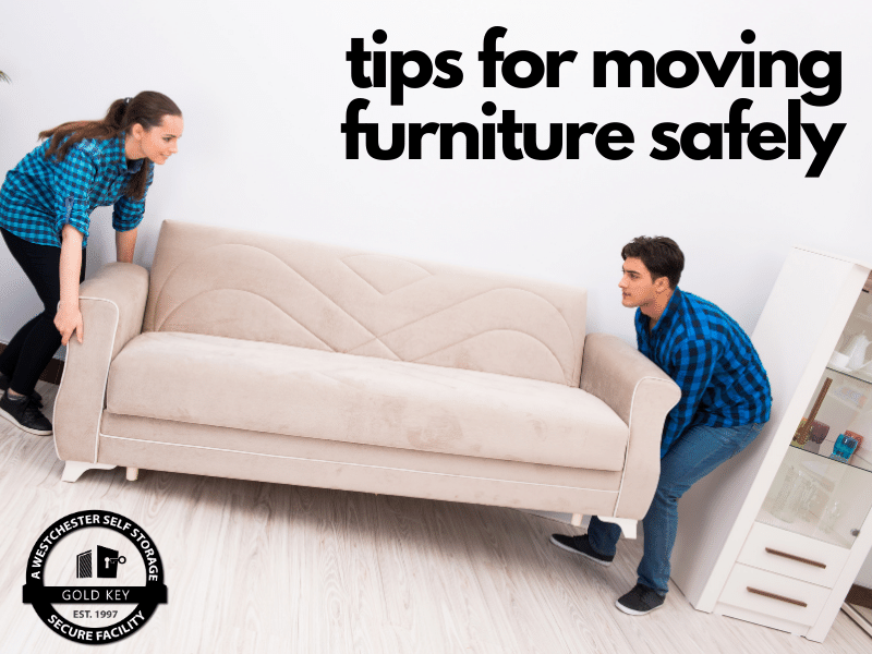 tips for moving furniture Lewisboro Self Storage